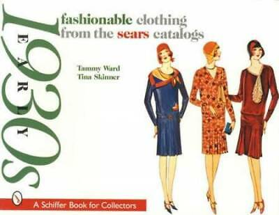 £21.26 • Buy Vintage 1930's Womens Fashion Clothing Collector ID - Sears Catalog Reprints