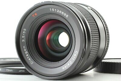 $ CDN2357.93 • Buy MINT Contax Carl Zeiss Distagon T* 55mm F3.5 Lens For Contax 645 From JAPAN F816