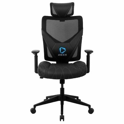 AU209 • Buy ONEX GE300 Breathable Ergonomic Gaming Chair Mesh PU Leather Office Chair Black