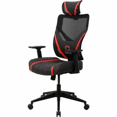 AU209 • Buy ONEX GE300 Breathable Ergonomic Gaming Chair Mesh PU Leather Office Chair - Red