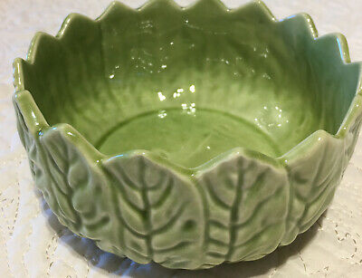£7.60 • Buy Vintage Cabbage Leaf Type Bowl Very Different