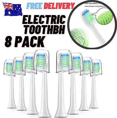 AU27.89 • Buy Phillips Sonicare Electric Toothbrush Replacement Heads 8 Pack