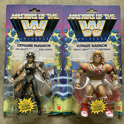 $49 • Buy Ultimate Warrior Stephanie McMahon Masters Of The WWE Universe Figures Wave 6