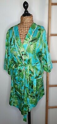 AU42.50 • Buy Peter Alexander Dressing Gown Robe Tropical Floral Print Size Medium Large