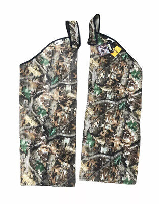 £42.58 • Buy Rattlers Advantage Timber Snake Proof Chaps Classic Realtree Camo Cordura Nylon