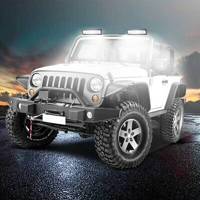 AU15.95 • Buy Pair Of 6inch Cree LED Work Light Bar Flood Beam Lamp Reverse Offroad Driving