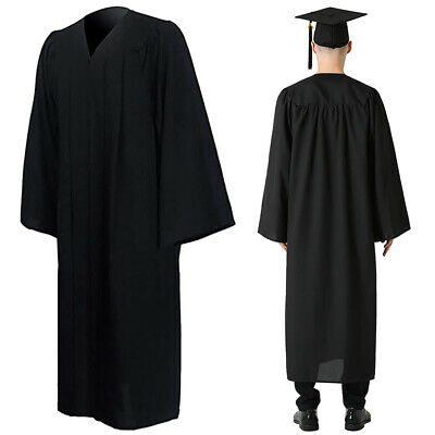 £15.18 • Buy University Graduation Gown And Hat Set With Blings Removable Tassel Bachelor UK,