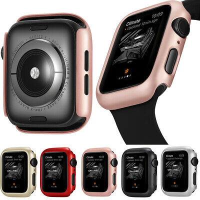 $ CDN7.68 • Buy For Apple Watch Series 4 Bumper For IWatch PC Protector Case Cover 40 44mm