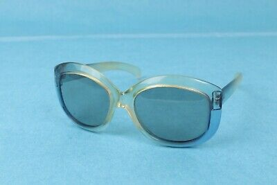 AU25.41 • Buy VINTAGE 1960's POLOROID COOL RAY 155 CLEAR/BLUE SUNGLASSES USA MADE