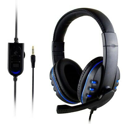 AU19.88 • Buy Gaming Headset Wired LED Headphones Stereo With Mic For PC Desktop & Laptop PS4