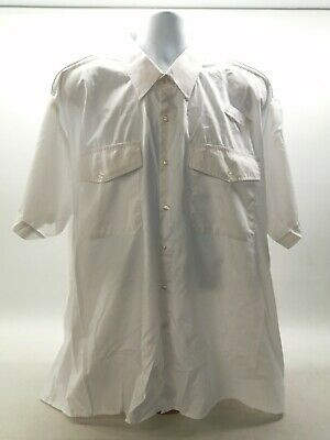 £7.99 • Buy Ex Prison Service Male White Shirt Used Opgear Long/Short Sleeve Security Patrol