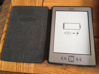 £7.30 • Buy Amazon D01100 Kindle 4th Generation 2GB Wi-Fi 6 Inch EBook Reader - Graphite