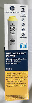 $ CDN30.35 • Buy GE Replacement Filter R Water Filter For Exterior Refrigerator / Icemaker FQK1K