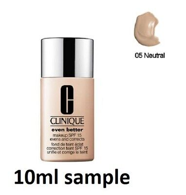 £6.25 • Buy CLINIQUE EVEN BETTER Foundation 10ML SAMPLE - 05 NEUTRAL FRESH Please See All Ph