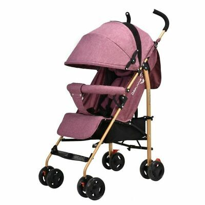 AU197.74 • Buy Baby Stroller Umbrella Can Sit & Recline Lightweight Folding Baby Carriage Cart