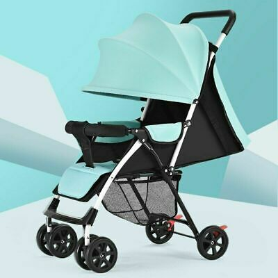 AU189.44 • Buy Baby Stroller Reclining Folding Baby Umbrella Cart Simple Travel Baby Carriage