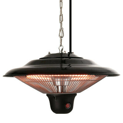 £109.95 • Buy Infrared Ceiling Patio Heater Electric Hanging Indoor Outdoor Safe 1500W Remote