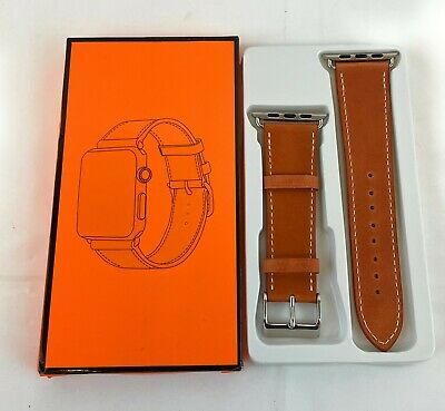 $ CDN16.92 • Buy MARGE PLUS Compatible With Apple Watch Leather Band 42mm - 44mm Brown