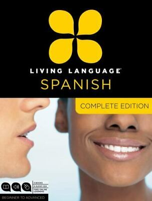 £7.10 • Buy SPANISH LEARN TO SPEAK Living Language Spanish, Complete Edition