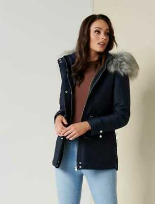 AU50 • Buy $ale - FOREVER NEW Patricia Short Parka -NAVY-  DI$COUNT PRICE FREEPOSATGE!!!