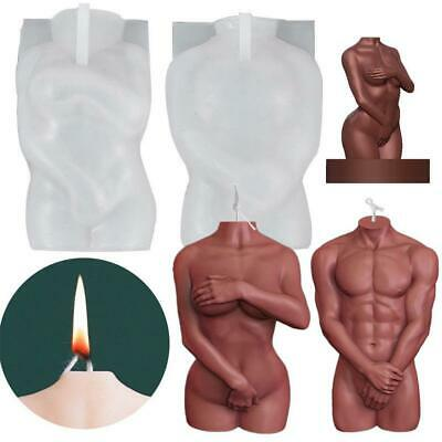 £5.03 • Buy 3D Body Silicone Resin Casting Mold Candle Wax Epoxy Making Soap DIY Mould Craft