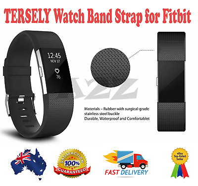 AU8.89 • Buy New TERSELY Watch Band Strap For Fitbit Charge 2 Classic Soft - Large Size AU