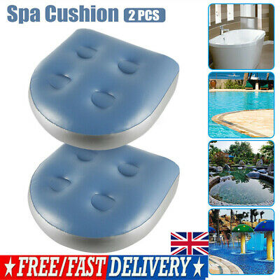 £11.59 • Buy 2Pcs Home Spa Booster Seat Inflatable Spa Cushion Hot Tub Accessories Adult Kids