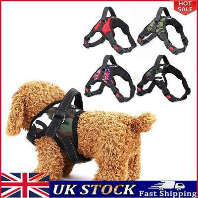 £6.49 • Buy Adjustable Pet Dogs Harness Vest Collar Puppy Chest Strap Pets Supplies S-XL