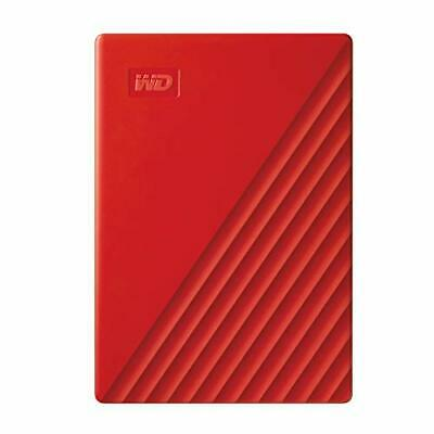 AU198.15 • Buy WD 4TB My Passport Portable External Hard Drive HDD USB 2.0 Compatible Red - ...