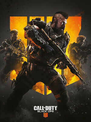 £26.99 • Buy Call Of Duty: Black Ops 4 - Trio - Canvas Ready To Hang 30 X 40cm