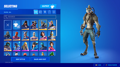 $ CDN140.66 • Buy NEW FORTNlTE Acc 40+ Skins Rare Items PC/Nintendo Switch Compatible