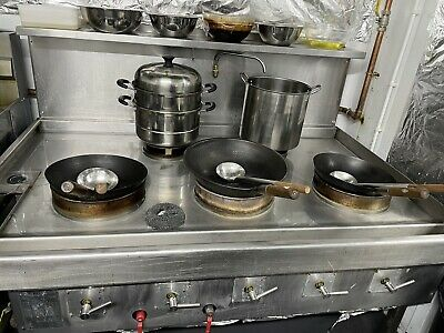 £3200 • Buy Chinese Cooker, Natural Gas Wok Cooker With 5 Burners, Commercial Purposes