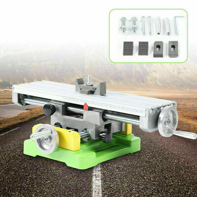 $78.02 • Buy  XY 2Axis Milling Machine Compound Work Table Cross Slide Bench Drill Vise Fixtu