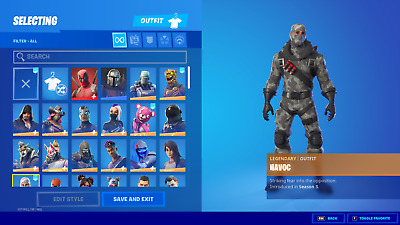 $ CDN206.31 • Buy NEW FORTNlTE Acc 140+ Skins Rare Items PC/Nintendo Switch Compatible