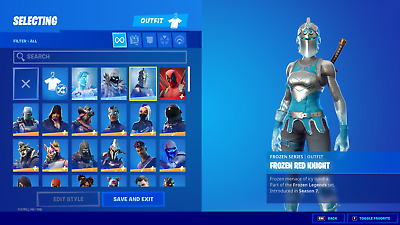 $ CDN187.56 • Buy NEW FORTNlTE Acc 120+ Skins Rare Items PC/Xbox/Nintendo Switch Compatible