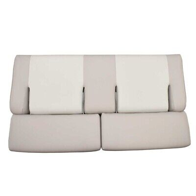 $ CDN410.58 • Buy Parker Boat Leaning Post Cushion 212535   White Gray 38 3/4 Inch