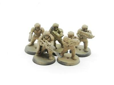 £3 • Buy (8692) Cadian Command Squad Imperial Guard Astra Militarum 40k 30k Warhammer