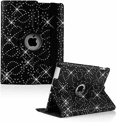 £2.49 • Buy NEW BLING 360° Rotating Smart Stand Case Cover For All IPad Generations/AIRs