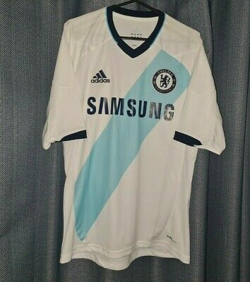 £19.95 • Buy CHELSEA Adidas Football Shirt 2012 2013 Soccer Jersey Small White Away Top S CFC