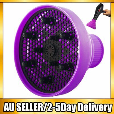 AU15.89 • Buy UK Silicone NEW Hair Dryer Universal Travel Professional Salon Foldable Diffuser