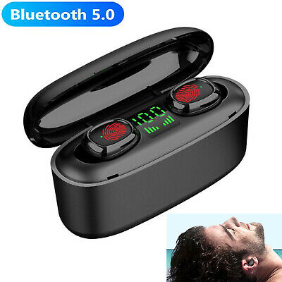 $ CDN20.61 • Buy Bluetooth Earbuds Earphone Wireless Touch Control Headset For IPhone XS XR 8 7 6