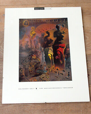 £19.99 • Buy 2 Clip Frame Poster Frameless 50x40cm 1 With Dali Print  HALLUCINOGENIC TOREADOR