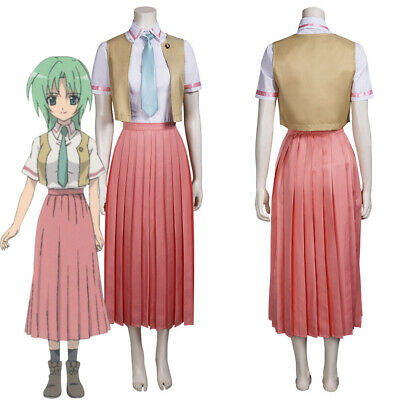 $ CDN42.46 • Buy Higurashi When They Cry Soonzaki Meiyin Outfits Halloween  Suit Cosplay Costume