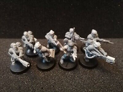 £10 • Buy Imperial Guard/Astra Militarum Cadian Infantry Odds With Forgeworld Bits (8...
