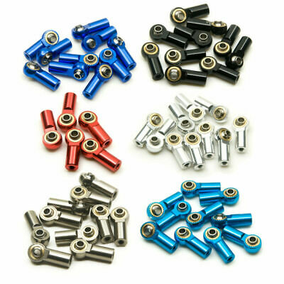 £14.49 • Buy 10x 20x Aluminum M3 Link Rod End Ball Joint Ball Head For 1/10 RC Crawler Car UK
