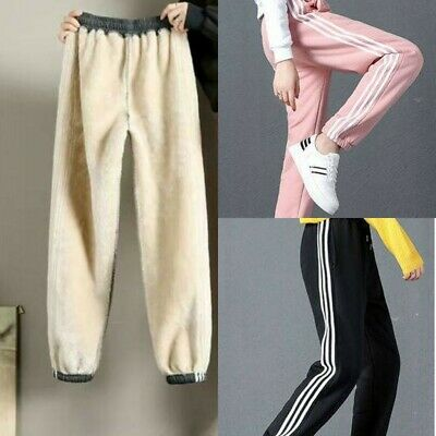 £11.55 • Buy Women's Winter Warm Thick Trousers Thermal Fleece Lined Pants Jogging Pants