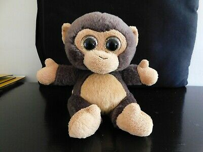 £5.75 • Buy Keel Plush Brown Monkey, Seated With Glitter Eyes