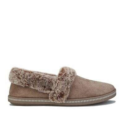 £30.94 • Buy Women's Skechers Cozy Campfire Team Slip On Cushioned Toasty Slippers In Brown