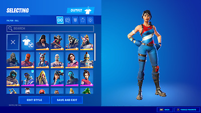 $ CDN131.29 • Buy NEW FORTNlTE Acc 45+ Skins Rare Items PC/Xbox/Nintendo Switch Compatible