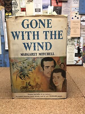 £18.29 • Buy 1936 - Gone With The Wind, 1st Book Club Edition, DJ S5
